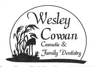 Logo for Dr. Wesley M. Cowan, DMD