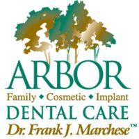 Logo for Arbor Dental Care: Dr. Frank J. Marchese