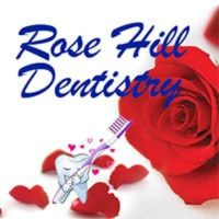 Logo for Rose Hill Dentistry