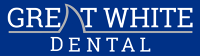 Logo for Great White Dental