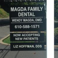 Logo for Magda Family Dental
