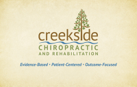 Logo for Creekside Chiropractic & Rehabilitation, LTD.