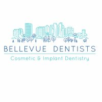 Logo for Bellevue Dentists - Dr Max Saxena and Dr Ellen Vyas