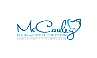 Logo for McCauley Family and Cosmetic Dentistry