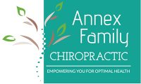 Logo for Annex Family Chiropractic - Empowering you for Optimal Health
