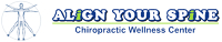 Logo for Align Your Spine Chiropractic Wellness Center