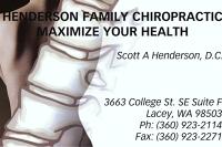 Logo for Henderson Family Chiropractic