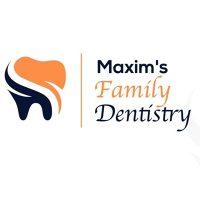Logo for Maxim's Family Dentistry