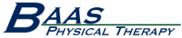 Logo for Baas Physical Therapy
