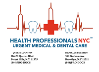 Logo for Health Professionals NYC