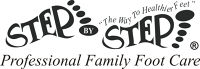 Logo for Step By Step Professional Family Foot Care