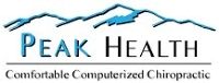 Logo for Peak Health Chiropractic and Massage