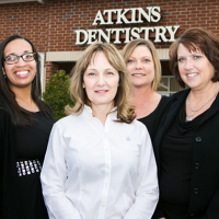 Logo for Atkins Dentistry