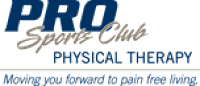 Logo for PRO Sports Club Physical Therapy
