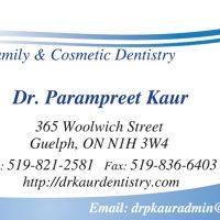 Logo for Dr. Parampreet Kaur Family Dentistry