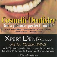 Logo for Dr. Alan Rosen DDS, Xpert Dental.com
