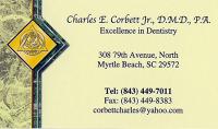 Logo for Dr. Charles E. Corbett Jr., DMD