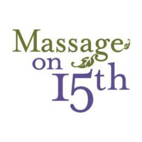 Logo for Massage on 15th