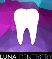 Logo for Luna Dentistry on Mount Pleasant