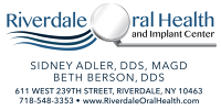 Logo for Riverdale Oral Health & Implant Center