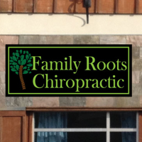 Logo for Family Roots Chiropractic