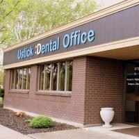 Logo for Ustick Dental Office