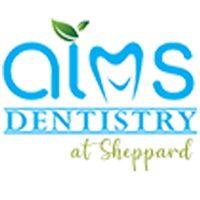 Logo for AIMS Dentistry at Sheppard