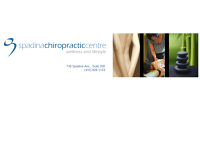 Logo for Spadina Chiropractic Centre