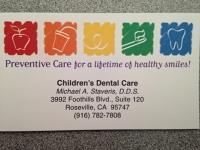 Logo for Children's Dental Care